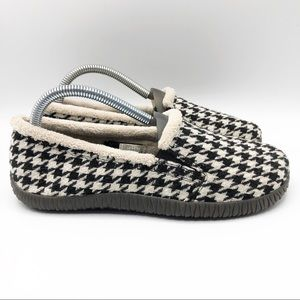 Vionic Geneva houndstooth Orthaheel slipper